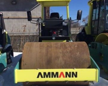 Used Ammann Equipment